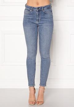 Twist & Tango Julie High Waist Jeans Mid Blue Bubbleroom.no