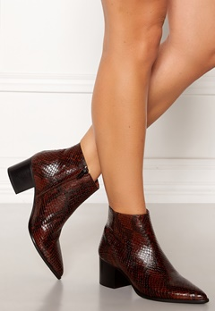 Twist & Tango Lisbon Boots Dark Brown Snake Bubbleroom.no