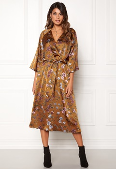 Twist & Tango Maxine Dress Rust Flower Bubbleroom.no