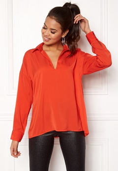 Twist & Tango Nadine Blouse Tomato Bubbleroom.no