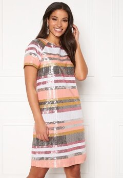 Twist & Tango Pernilla Sequin Dress Sequin Stripe Bubbleroom.no