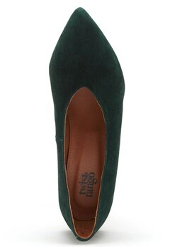 Twist & Tango Rio Leather Heels Blackish Green Bubbleroom.no