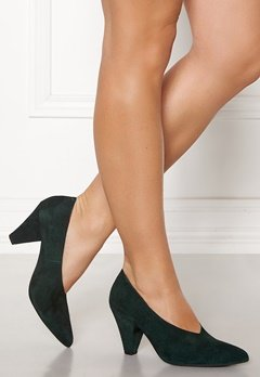 1d7a92e1 Twist & Tango Rio Leather Heels Blackish Green Bubbleroom.no