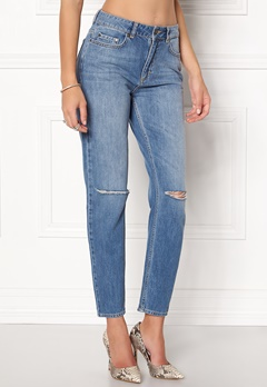 Twist & Tango Sarah Jeans Mid Blue Cut Bubbleroom.no