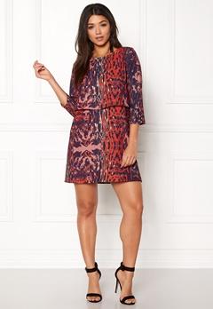 Twist & Tango Sasha Dress Wine Leopard Bubbleroom.no