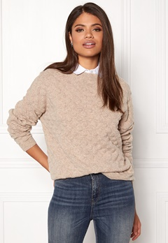 Twist & Tango Thea Sweater Beige Melange Bubbleroom.no