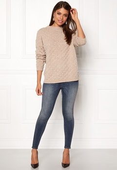 Twist & Tango Thea Sweater Beige Melange Bubbleroom.no