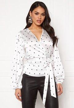 Twist & Tango Valentina Blouse Black Dot Bubbleroom.no