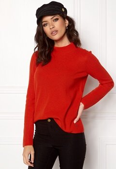 Twist & Tango Yvette Sweater Tomato Bubbleroom.no