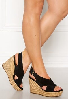 UGG Australia Harlow Wedges Black Bubbleroom.no