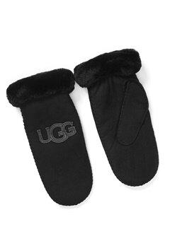 UGG Australia Logo Mitten Black Bubbleroom.no