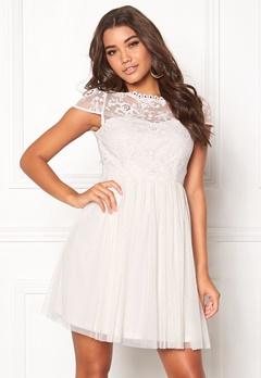 1c3f0b6125 VILA Ulricana Short Dress Snow White Bubbleroom.no