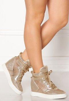 UMA PARKER Diego Shoes Gold Bubbleroom.no