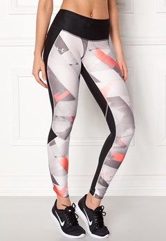 Under Armour Armour Fly Printed Tight Black Bubbleroom.no