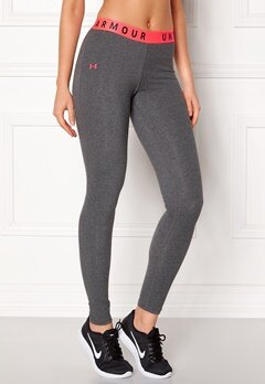 Under Armour Favorites Legging Charcoal Light Heat Bubbleroom.no