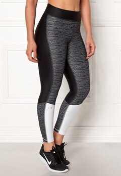 Under Armour Jac Ancle Crop Legging Black/White Bubbleroom.no