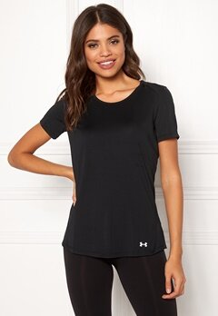 Under Armour Speed Stride Short Sleeve Black/Reflective Bubbleroom.no