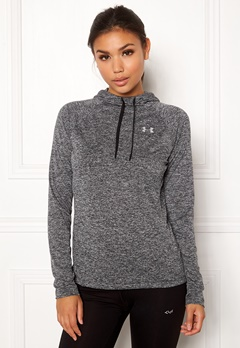 Under Armour Tech LS Hoody Black Bubbleroom.no