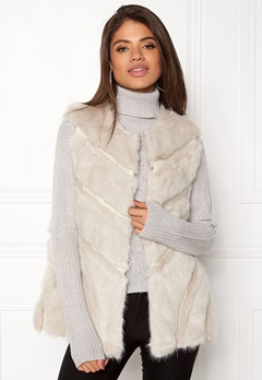Urban Mist Faux Fur Panel Swing Creme Bubbleroom.no