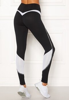 NEBBIA V-Butt Sport Tights Black Bubbleroom.no