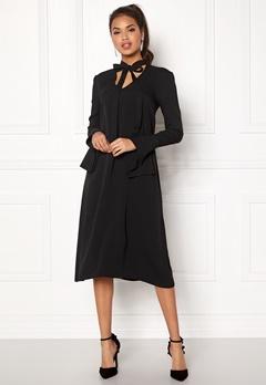 DAGMAR Valencia Dress Black Bubbleroom.no