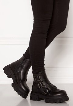 VAMSKO Frida Leather Boots Black Bubbleroom.no