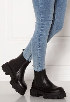 VAMSKO Molly Leather Boots Black Bubbleroom.no