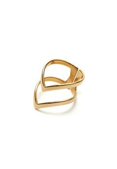 WOS Vanessa Ring Gold Bubbleroom.no