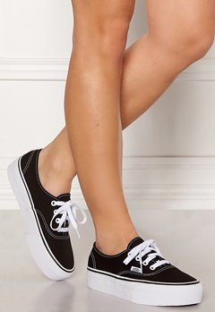 Vans Authentic Platform Black Bubbleroom.no