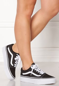 Vans Old Skool Platform Black/White Bubbleroom.no