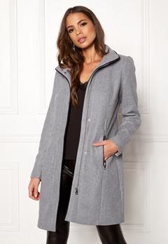 VERO MODA Bessy Class Wool Jacket Light Grey Melange Bubbleroom.no