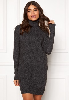 VERO MODA Brilliant LS Rollneck Dress Black Bubbleroom.no