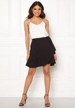 VERO MODA Cita Bobble Wrap Skirt Black Bubbleroom.no