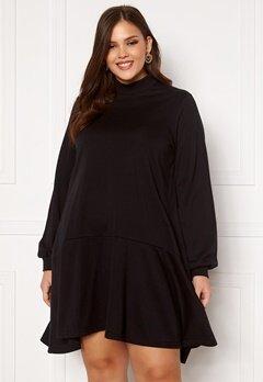 Vero Moda Curve Bistad LS Tunic Black Bubbleroom.no