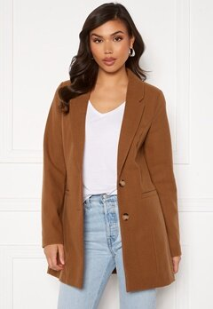 VERO MODA Dafnejaney Jacket GA Tabacco Brown Bubbleroom.no