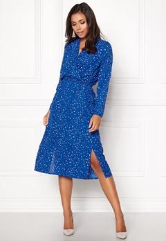 VERO MODA Dee Calf Dress Strong Blue Bubbleroom.no