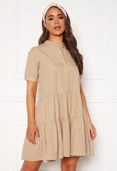 VERO MODA Delta 2/4 Dress Nomad Bubbleroom.no