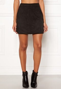 VERO MODA Donna Dina Short Skirt Black Bubbleroom.no