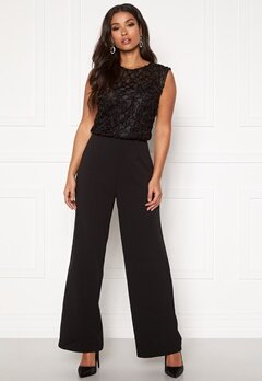 VERO MODA Doris Jumpsuit Black Bubbleroom.no