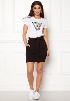VERO MODA Eva Paperbag Short Skirt Black Bubbleroom.no