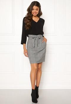 VERO MODA Eva Paperbag Short Skirt Grey Bubbleroom.no