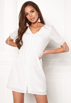 VERO MODA Eve 2/4 Short Dress Snow White Bubbleroom.no