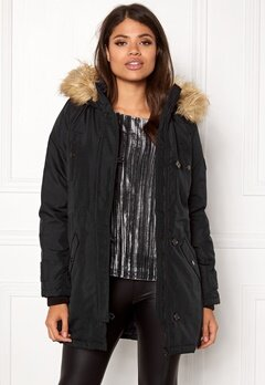 VERO MODA Excursion Parka Black Beauty Bubbleroom.no