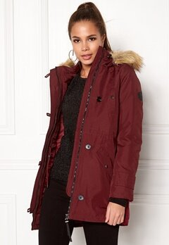 VERO MODA Excursion Parka Zinfandel Bubbleroom.no