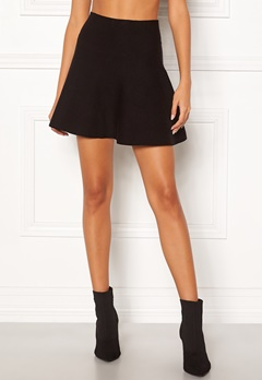 VERO MODA Fresno Short Knit Skirt Black Bubbleroom.no