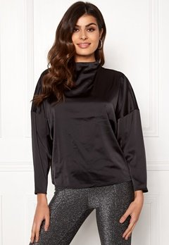 VERO MODA Genova Top Black Bubbleroom.no