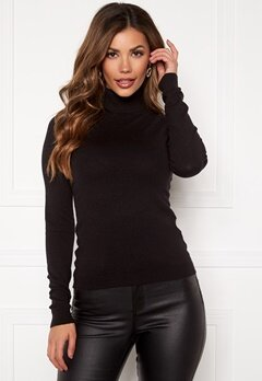 VERO MODA Happy Basic Rollneck Black Bubbleroom.no