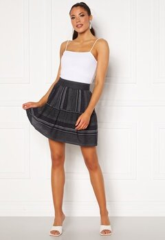VERO MODA Hazel Skirt Night Sky/Stripes Bubbleroom.no