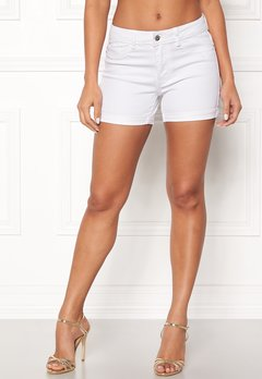VERO MODA Hot Seven Fold Shorts Bright White Bubbleroom.no