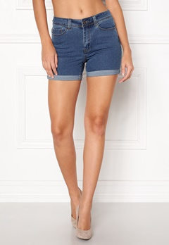 VERO MODA Hot Seven Fold Shorts Medium Blue Denim Bubbleroom.no
